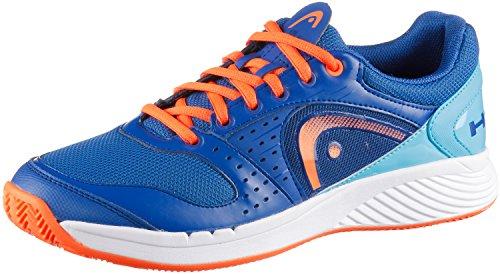 Head Zapatos de tenis hombre, color  - azul y naranja, tamaño 42 1/2 - azul y naranja