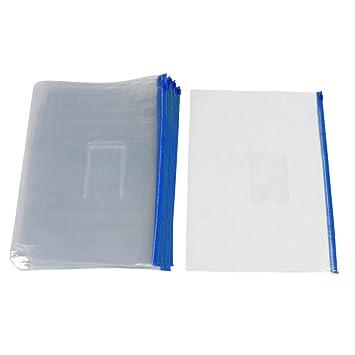 Deslizador Cierre Zip - TOOGOO(R) 20pcs Azul Plastico ...