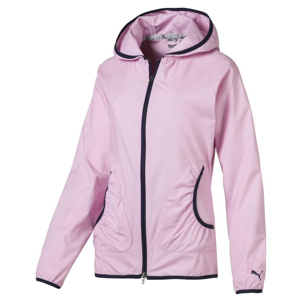 Puma Golf Women's 2019 Zephyr Jacket, Pale Pink, Small