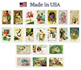 HOLIDAYS VINTAGE REPRINTS 1907-1941 postcard set of 20. Quality post card variety pack postcards. Made in USA.