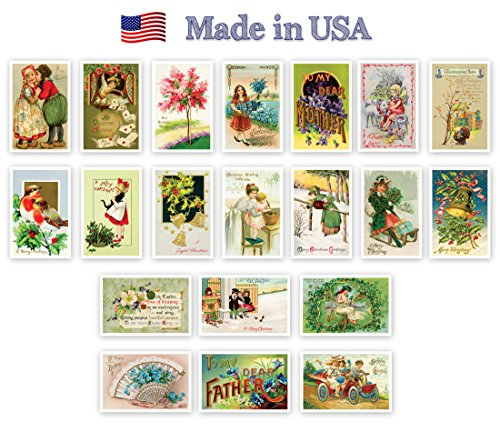 holidays-vintage-reprints-1907-1941-postcard-set-of-20-quality-post-card-variety-pack-postcards-made