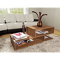 Sophies Home Decor - Living Room Home Furniture Modern Design Coffee Table - Walnut