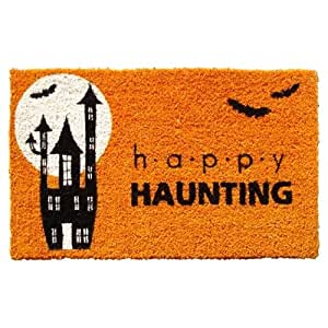 Entryways Happy Halloween Handwoven Coconut Fiber Doormat