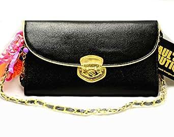 Paul's Boutique black chain shoulder bag