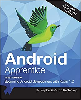 Android Apprentice: Beginning Android Development with Kotlin 1 2