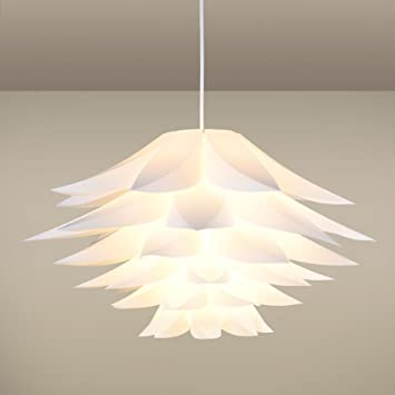 Amazon lamps shade alotm diy kit lotus chandelier iq pp lamps shade alotm diy kit lotus chandelier iq pp pendant lampshade ceiling flower lamp aloadofball Choice Image