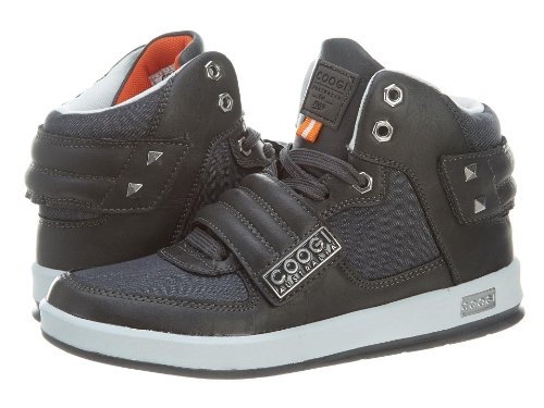 Coogi Kid's CBS435 Stein charcoal Fashion Sneaker 6 Kids US