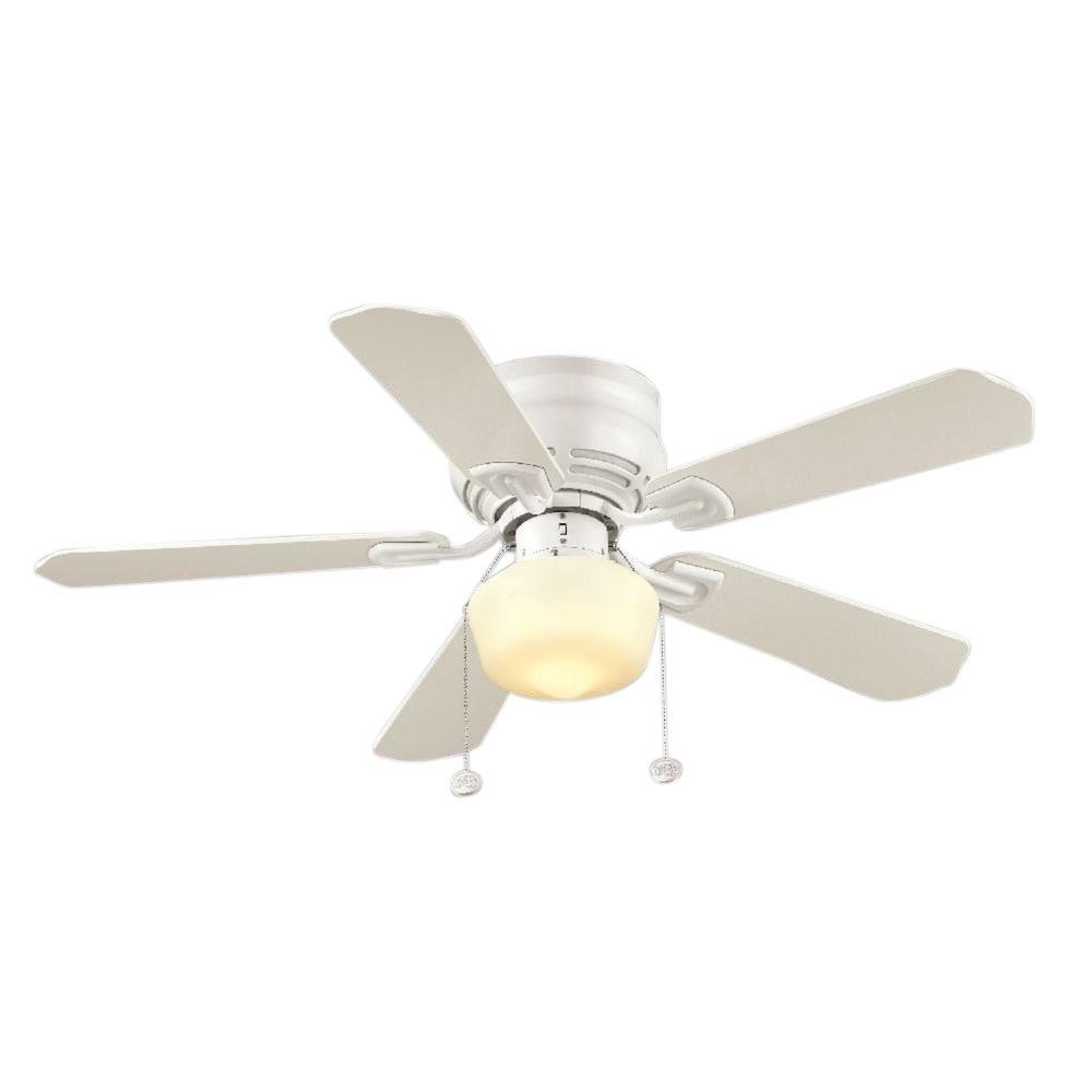 """Hampton Bay Middleton 42"""" Ceiling Fan White-OB"""