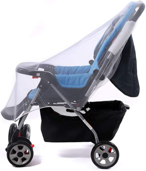 Sperrins Baby Pram Mosquito Net Universal Pushchair Insect Net Elastic Stretch Full Cover Protection Stroller