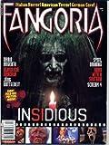 Fangoria Magazine 302 INSIDIOUS Sybil Danning RUTGER HAUER Claudio Gizzi DARIO ARGENTO Hobo With a Shotgun SCREAM 4 April 2011 C