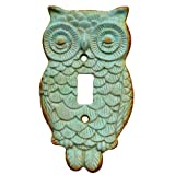 NITE OWL SWITCH PLATE 3.625x.25x6.25 H (Turquoise)