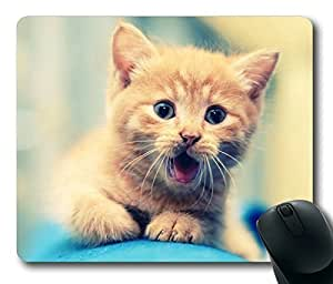The Cat Screamed Rectangle mouse pad by Custom Service Your Best Choice
