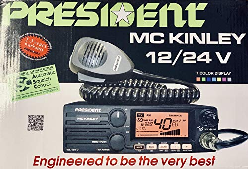 President McKinley USA 40 Channel CB Radio SSB 12/24V (Cb Base Antennas For Sale)