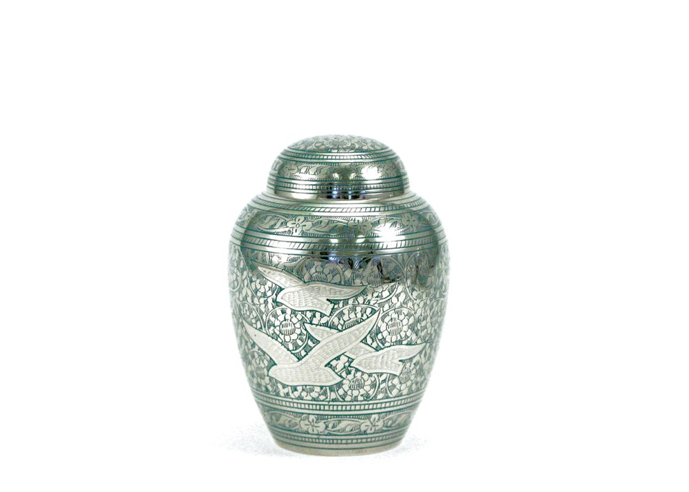 45 Cubic Inches Near & Dear Pet Memorials Going Home Pet Cremation Urn, 45 Cubic Inch, bluee