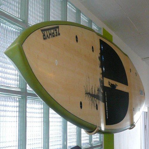 Paddle Board Wall Rack by Hawaiian Gun Rack