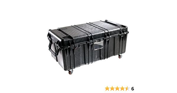 Pelican Products 0550-000-110 Pelican 0550-000-110 Large Transport Case with Foam Black