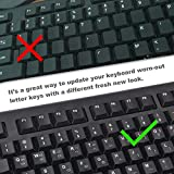 [2PCS Pack] FORITO Korean Keyboard Stickers on Non