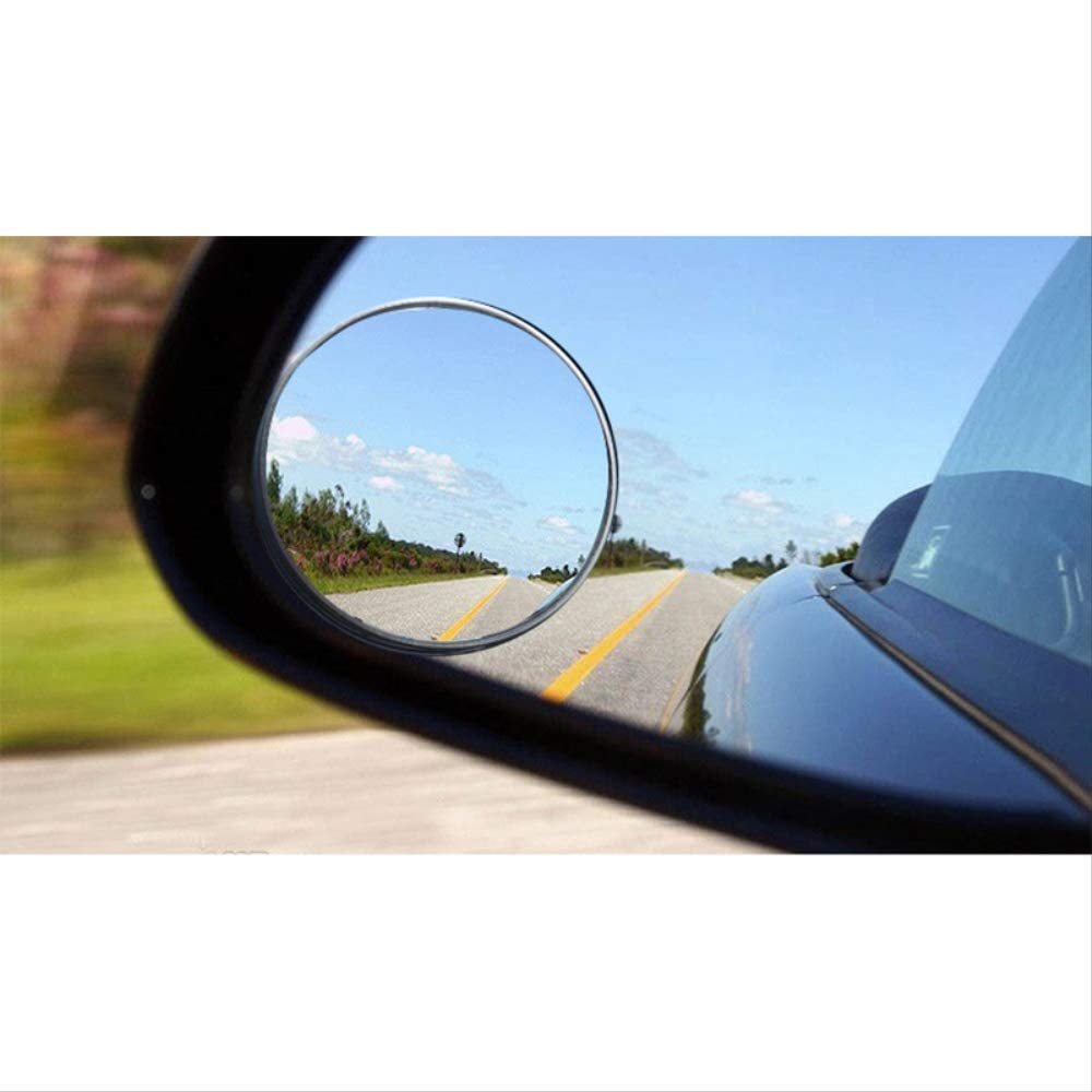 R/étroviseur Angle Mort 1 PC R/étroviseurs Lat/éraux Pour Camions /Étanche De Voiture Angle Mort Miroir Rond Convexe Grand Angle B/éb/é Auto R/étroviseurs Accessoires 9.5cm