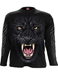 Spiral - TRIBAL PANTHER - Longsleeve T-Shirt Black