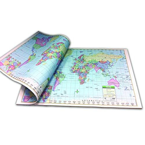 World Study Pad Map
