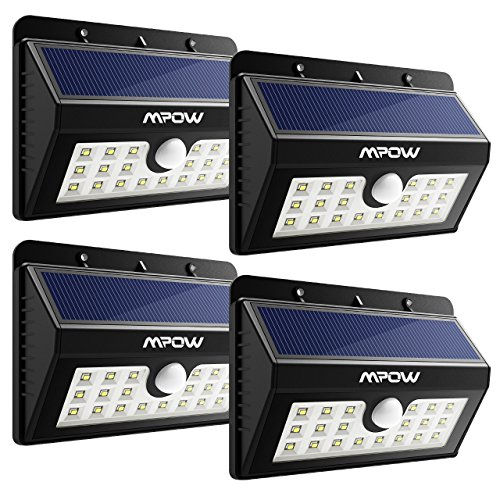 Solar Motion Detector Led Lights - 4