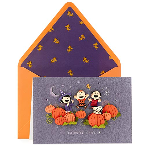 Hallmark Signature Peanuts Halloween Card (Halloween is -