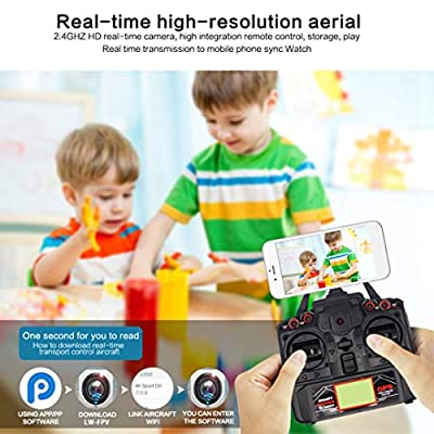 Professional 4CH 2.4G Remote Control Quadcopter 5G Camera WiFi GPS Positioning System Fight Aircraft with Remote Control