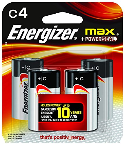 Energizer Max Alkaline Battery 4 Count