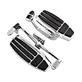 Left Right Driver Footboard Floorboard Kit Compatible with 2001-2016 Honda GL1800 F6B 2014-2015 Valkyrie
