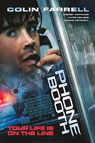 PHONE BOOTH Original Movie Poster - 27x40 - Double-Sided - Colin Farrell - Kiefer Sutherland - Forest Whitaker - Radha Mitchell