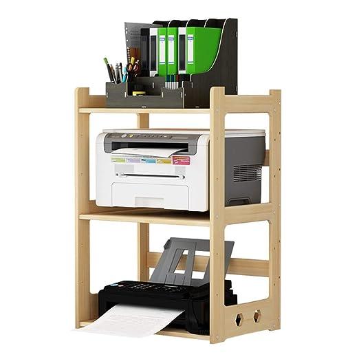 YBWEN Soportes para impresoras Madera sólida de la Impresora de ...