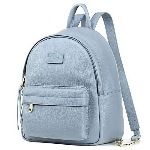 ... Faux Leather Casual Daypack Travel Rucksack 3f5c756215b4f