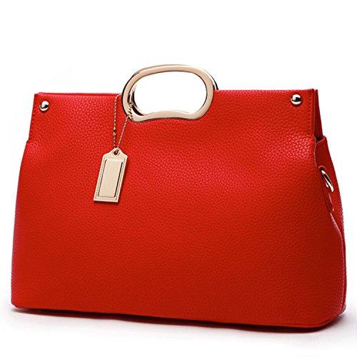 Red Satchel Handbags - 2