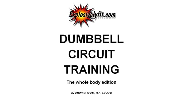 Dumbbell circuit training-The whole body edition