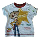 Baby Boys Woody Toy Story T-shirt Newborn up to 18-24 Months 100% Cotton