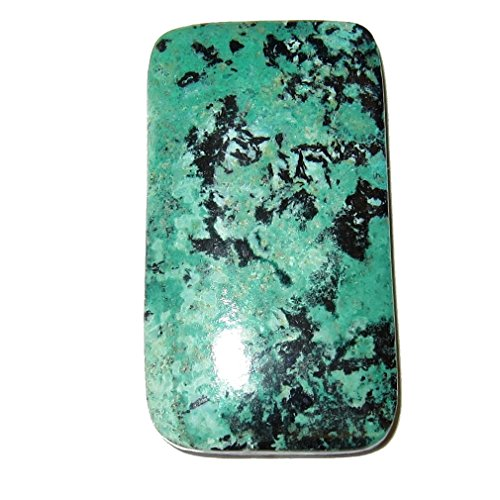 Chrysocolla Polished Stone 54 Rectangle Crystal Sonora Sunset Mineral Cabochon Healing Gemstone 1.5