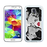 I Love Lucy Lover Kiss White Samsung Galaxy S5 I9600 Shell Phone Case,Nice Look