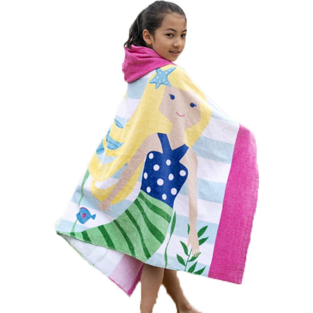 Clary Elephant Kids Super Morbido Asciugamano da Spiaggia con Cappuccio 76x127 cm 100/% Cotone Towel-8