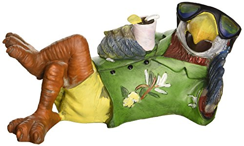 - Design Toscano Just Chillin' Tiki Parrot Statue