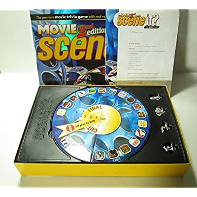 Scene It? DVD Game - Movies 2nd Edition: Toys & Games