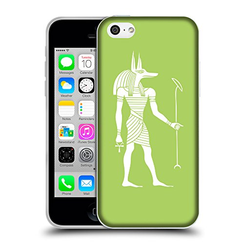 GoGoMobile Coque de Protection TPU Silicone Case pour // Q09140628 Anubis egypt 2 poule // Apple iPhone 5C