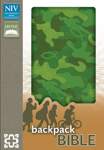 Price comparison product image NIV Green Camo Backpack Bible