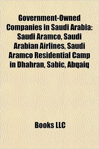 Amazon in: Buy Government-Owned Companies in Saudi Arabia: Saudi