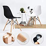 Waleaf Set of 4 Modern Eames Style Dining Chair