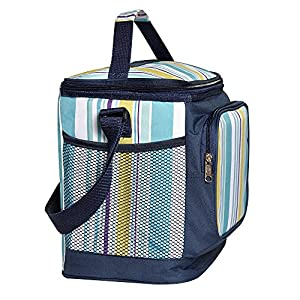 Insulated Lunch Bag Box Large Picnic Cooler Tote for Men Women with Adjustable Shoulder Strap by LUYADA