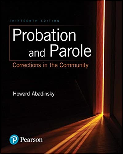 Probation and parole corrections in the community 13th edition probation and parole corrections in the community 13th edition 13th edition fandeluxe Image collections