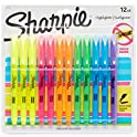 12 Pk Sharpie 27145 Pocket Highlighters, Chisel Tip