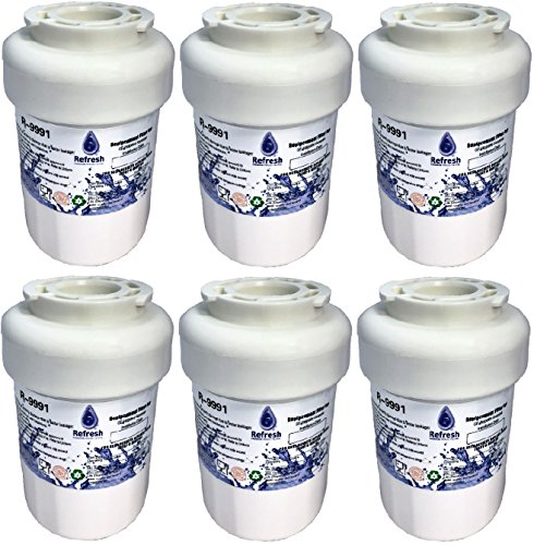 Refresh 6 x GE MWF SmartWater Compatible Water Filter for...