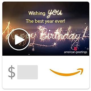 Amazon eGift Card - Best Year Ever (Animated) [American Greetings] (B07C68264W) | Amazon price tracker / tracking, Amazon price history charts, Amazon price watches, Amazon price drop alerts