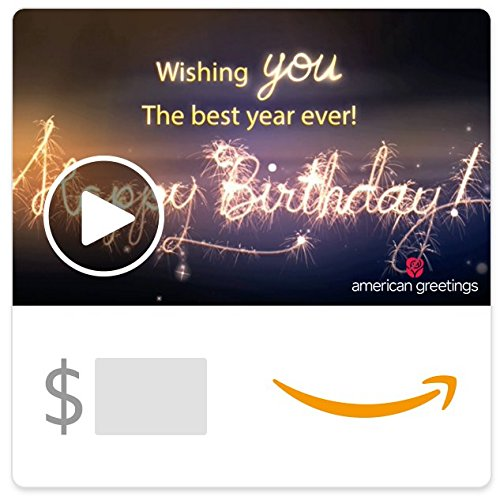 Amazon eGift Card - Best Year Ever (Animated) [American Greetings] (Electronics International)